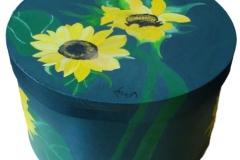 Sonnenblumenschachtel